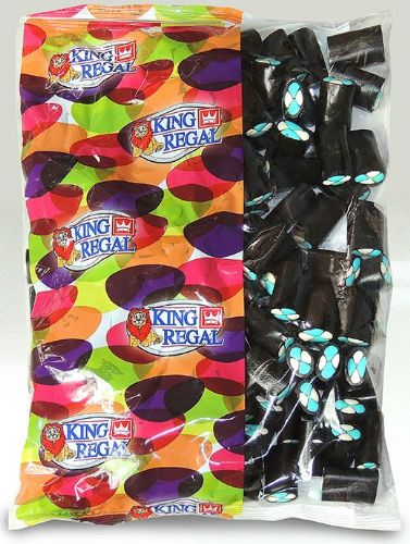 KR20 KING  REGAL LICORICE ARLEQUINES 1KG
